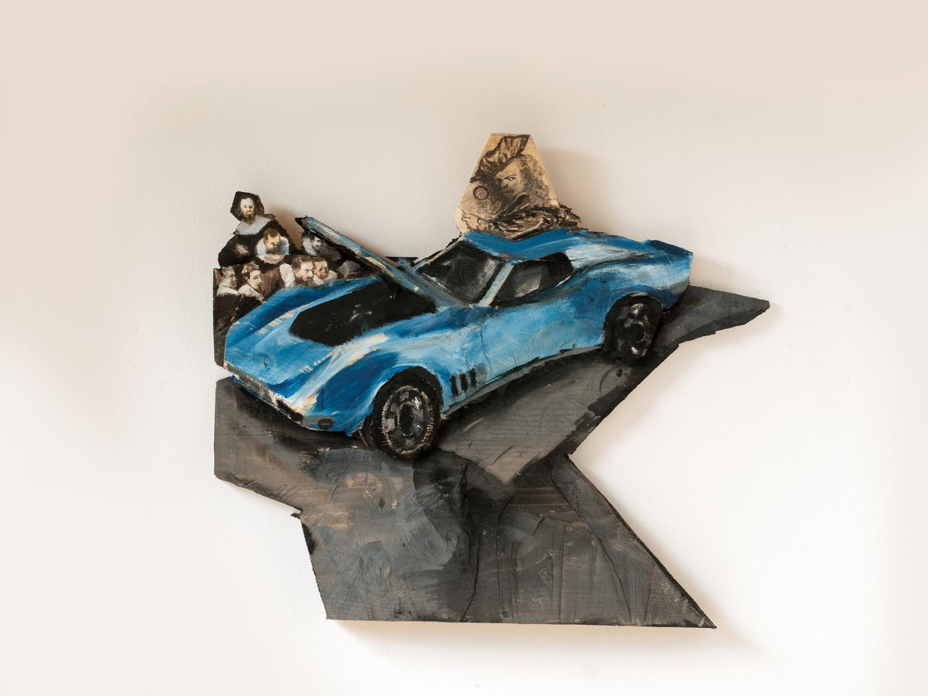 Preview image for Rembrandt and his little blu corvette