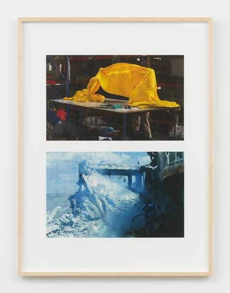 Blue Collapse / Yellow Held Aloft