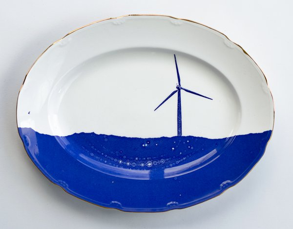 Scott's Cumbrian Blue(s) The Horizon Series, Wind Turbine No: 10