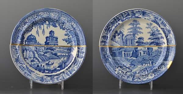 Scott's Cumbrian Blue(s), Garden After Monopteros/Lorraine, and Garden After Lorraine/Monopteros