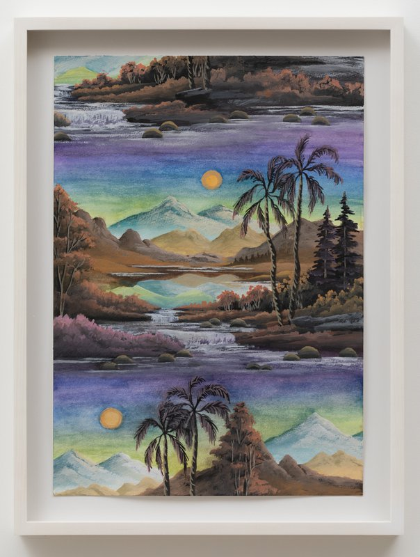 Palm Valley (Lime green Sunrise)