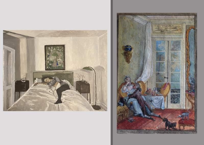 Polina Barskaya and 18th Century French School