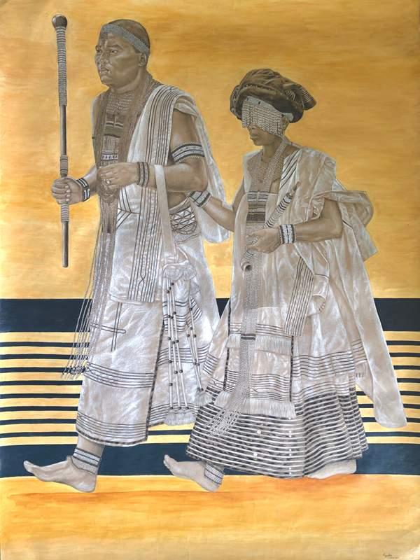 Indoda Nomfazi (husband and wife)